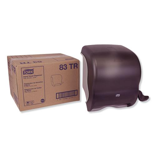 TD0220-01 Impress Lever Roll Towel Dispenser Dark Translucent