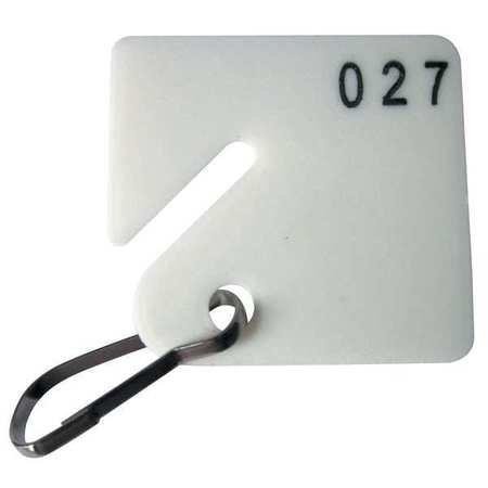 Key Tag 1-100 Square